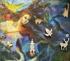 Puzzles Jigsaw 700Pieces Wooden New Russian World on earthJosephine wall gift