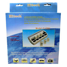 Hitech iC-109V 10 Slot Bay Smart Charger for 9V NiMH NiCd Rechargeable Batteries