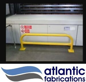 Hoop barrier powder coated - various colours 1500l x 500h Heavy duty