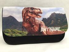 Jurassic dinosaur pencil case - Personalised, any name