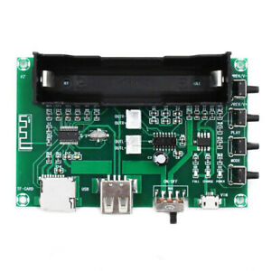 PAM8403 Bluetooth Amplifier Stereo Board 18650 Battery Chargeable 2 Channel 10W
