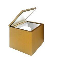 CINI & NILS CUBOLUCE Tischleuchte, Kunststoff gold matt, sofort, NEU, OVP