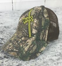 Real Tree Mello Yello Embroidered Front Hat Camo Front Mesh Back Strapback Cap