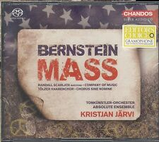 Kristjan Jarvi Leonard Bernstein MASS CD NEW Absolute Ensemble Scarlata