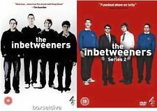 THE INBETWEENERS - COMPLETE SERIES 1 & 2 - BRAND NEW DVD