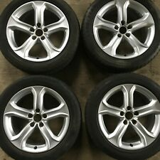 4 17 Genuine Audi A5 Technic Alloy Wheels complete with tyres Sport 8t0601025ba