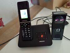 Medion schnurlos Telefon Anrufbeantworter und Türsprechanlage kamera Türklingel