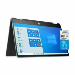 """New HP x360 Pavillion  2 IN 1 14"""" FHD Touch Core i5-1035G1/8GB/256GB PCIe SSD"""