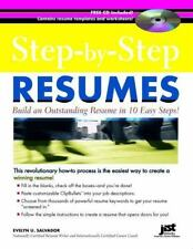 Step-By-Step Resumes: Build an Outstanding Resume in 10 Easy Steps! [With CDROM]