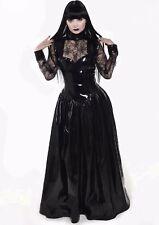Misfitz PVC/spiderweb black widow ballgown  size 22 TV Goth CD Gothic Halloween