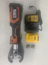 Klein Tools Bat20-7T 7 Ton 20V Battery-Operated Cutter Crimper