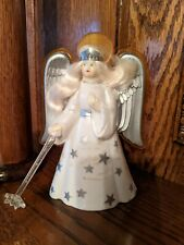 Antique Vintage 1940's Angel-Glo Christmas Tree Electrified Light Ornament Old