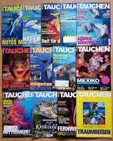 12x Tauchen 2015 Jahrgang Zeitschrift Sport Meere Tiere Urlaub Tauchzeitschrift