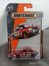 Matchbox '70 Datsun 510 Rally Long Card Red 1:64 SALE not Hot Wheels NEW