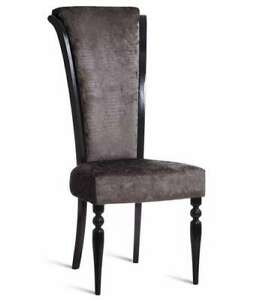 Design Upholstered Chair Royal Dining Office Baroque Antique New