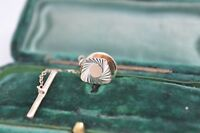 Vintage Sterling silver lapel pin in the art deco style #P141