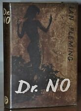 DR. NO~1ST STATE, 1ST/1ST UK EDITION~W. ORG NEAR FINE DUST JACKET~IAN FLEMING
