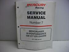 mercruiser service manual 7 ebay rh ebay ca Mercruiser Parts Mercruiser Speedometer