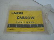 CW50W YAMAHA OWNERS MANUAL LIT-11626-06-54