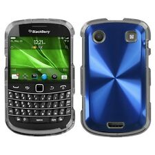 Blue Cosmo HARD Case Snap on Phone Cover for Blackberry Bold 9930 9900