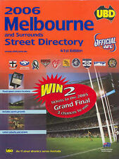 UBD Melbourne Street Directory by UBD (Paperback, 2005)