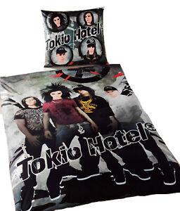 Tokio Hotel Bettwäsche Baumwolle Musik Band OVP Rarität Tom Kaulitz Bill NEU