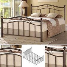 Full Metal Bed Frame Bedroom Furniture Headboard Footboard Rails Slats Platform