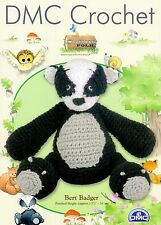 "DMC Crochet Pattern Woodland Folk  ""Bert Badger"""