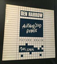 New listing DEN HARROW-FUTURE BRAIN MAXI SINGLE 1985 NEAR MINT