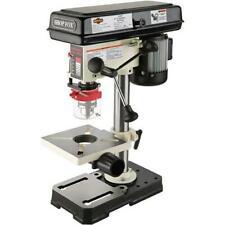 Shop Fox W1667 12 Hp 8 12 Bench Top Oscillating Drill Press 1725 Rpm