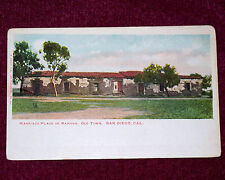 1920's Vintage Postcard Marriage Place Of Ramona Old Town San Diego California