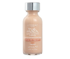 L'OREAL Paris True Match Super-Blendable Makeup #N1 Soft Ivory