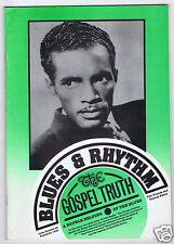 MAGAZINE BLUES & RHYTHM GOSPEL TRUTH No 55 SEPTEMBER 1990 PERCY MAYFIELD