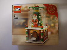 LEGO LIMITED EDITION  Christmas Santa Snowglobe 40223 Brand New and Sealed