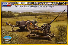 HOBBYBOSS® 80148 WWII German Sd.Anh.51 w/2cm Flak 38 Late Version in 1:35
