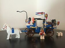 LEGO 6044 Royal Knights Kings Carriage Vintage 1995 Set 100% COMPLETE!