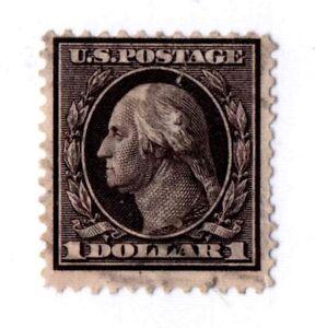 US Scott #342 $1 Washington/Franklin Used  2020 CV $90