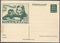 Estonia 1935 Postal stationery Mi P25, Unused