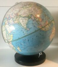 Vintage National Geographic Globe Map on Stand Rare 1982 Excellent Condition