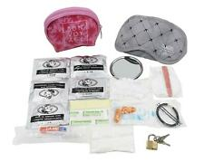 Damsel In D Stress Travel Essentials Kit ~ Eye Mask, Padlock, Ear Plugs, Plaster
