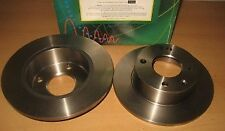 DISQUES FREIN AVANT FORD ESCORT  III IV (1981 A 1986) ORION I II - DF1652