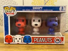 Funko Pop! Vinyl Animation Peanuts Snoopy Rock The Vote Minis 3-Pack Exclusive