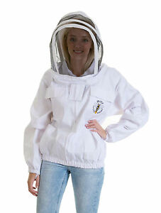 Beekeeping White Fencing Jacket - Select Your Size