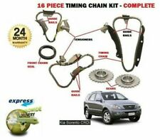 Para Kia Sorento 2.5TDCrdi D4CB 2003-2010 Kit de Cadena Temporizador 16 Piezas