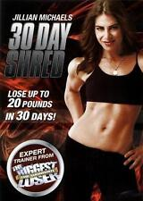 Jillian Michaels-30 Day Shred (DVD-2009,1Disc)R2.Workout Fitness-NEW & SEALED***
