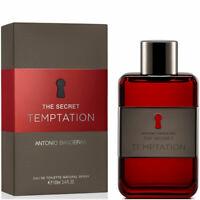 The Secret Temptation by Antonio Banderas, 3.4 oz EDT Spray for Men NEW
