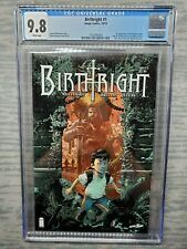 CGC Graded 9.8 Birthright #1 Image Comics 2014