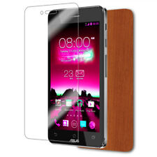 Skinomi Light Wood Skin+Screen Protector for ASUS Padfone Infinity Phone Only