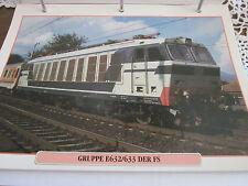 Die Eisenbahn 4 Gruppe E 632, 633 der FS