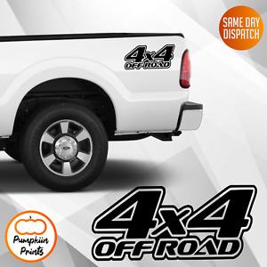 4x4 Vinyl Decal Sticker Off Road/Land Rover/Navara/Warrior/Trooper Tail Gate